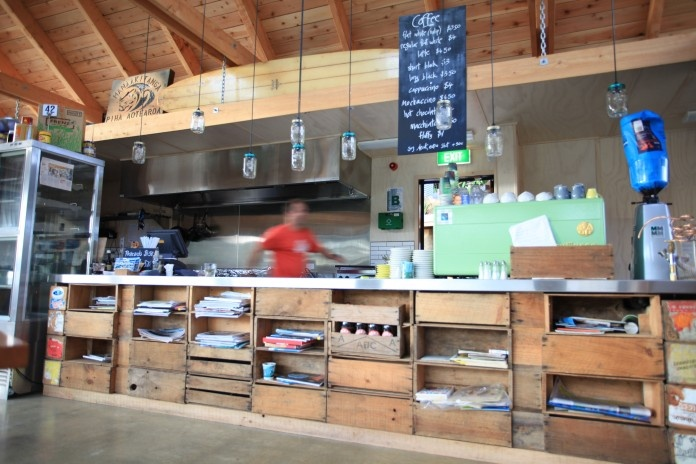 Cafe Counter - The Piha Cafe