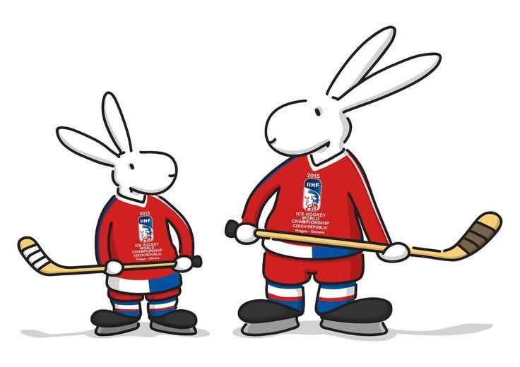 2015 IIHF Mascot...Welcome Bob & Bobek!
