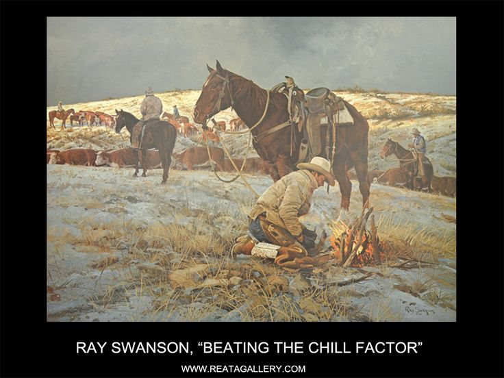"""Ray Swanson, """"Beating the Chill Factor"""""""
