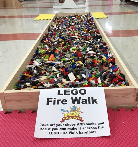 The Toughest Challenge Anyone Can Ever Face <-I say nay... the single floor Lego that you always seem to step on in the dead of night, while sleepwalking to the bathroom