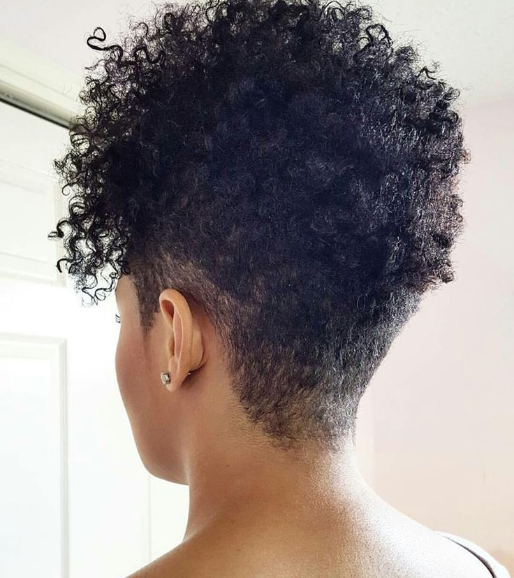 Tapered Cut Back Natural Hair Haircuts Curly Hair