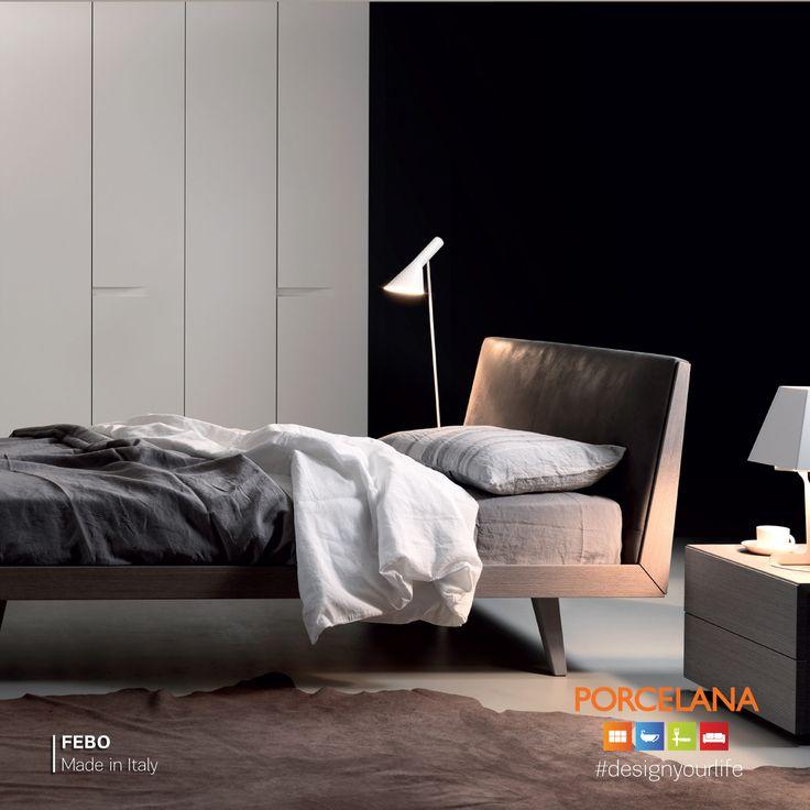 #Enjoy a #Relaxing #Week με την #minimal αισθητική της κρεβατοκάμαρας «Febo»! #Designyourlife @ Porcelana! www.porcelana.gr