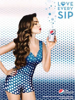 Sofia Vergara for Diet Pepsi