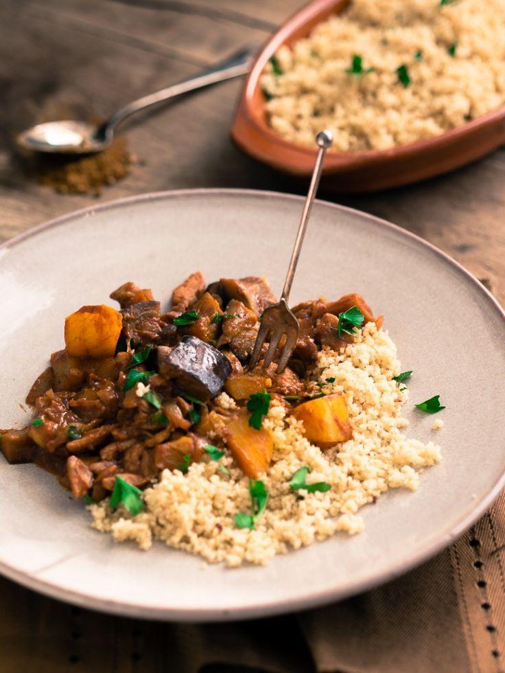 Snelle Marokkaanse kippenstoof, een snel recept perfect voor doordeweekse dagen.