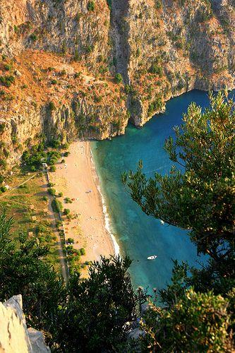 Kelebek Vadisi, The Butterfly Valley - Turkey