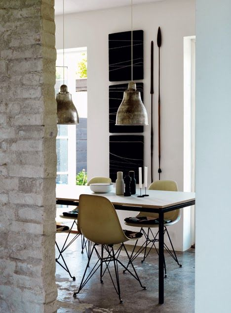 Luxury Rustikt med rena linjer · Interior WindowsKitchen TablesKitchen Unique - Unique kitchen table against wall Top Design