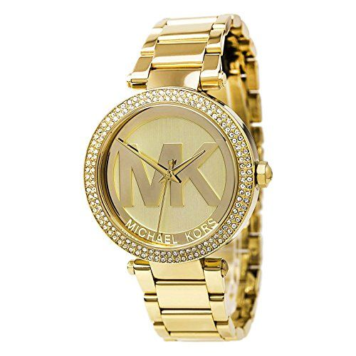 Michael Kors MK5784 Ladies All Gold Logo Parker Watch *** Check out this great p...