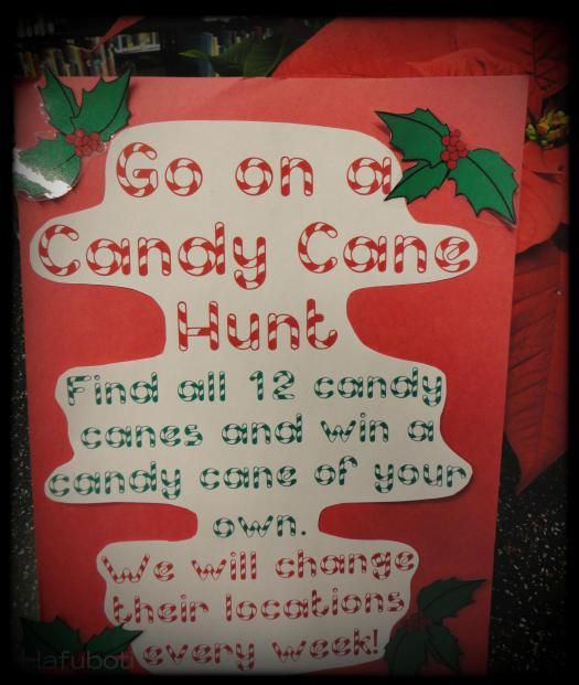 Our Vibrant Candy Cane Hunt Sign A Brief Synopsis Of The