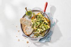 Groen, groener, groenst is deze frittata. Lekker met brood - Recept - Allerhande