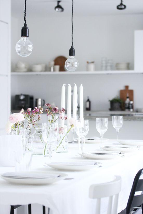 glass and ilttle flowers. Elisabeth Heier