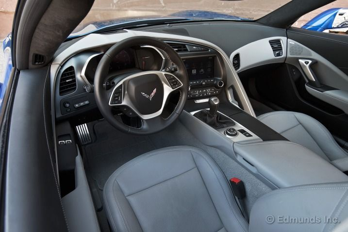 Clean, well-made and functional, the Corvette C7 Stingray's interior is a big step forward. It's still not like a Porsche inside, but it's pretty close for the asking price.