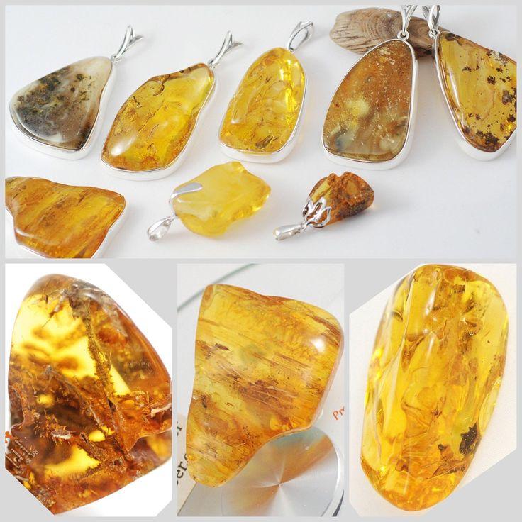 Fittings Amber Stone in Silver 925.  Hand made dor custom order.   Excellent pendants.   Price 3$ per gram.