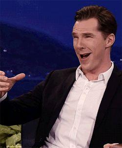 sherlock Benedict Cumberbatch conan o'brien this dork anetasmuskas cumbercollective