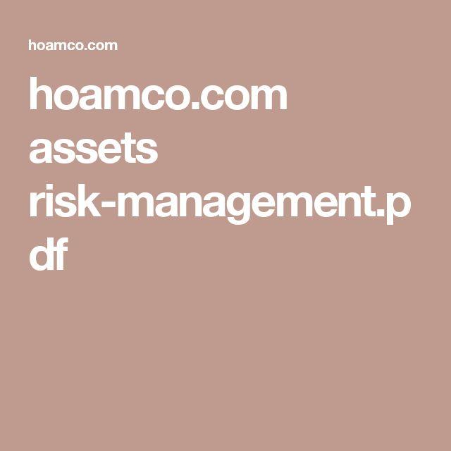 Las 25 mejores ideas sobre Risk Management Pdf en Pinterest - risk management plans