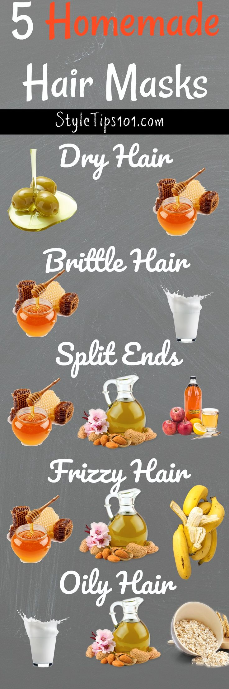 5 Do-it-yourself Hair Masks for All Hair Varieties