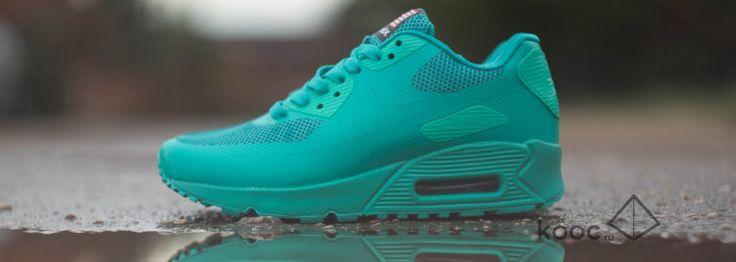 Nike Air Max 90 Hyperfuse PRM Womens Green