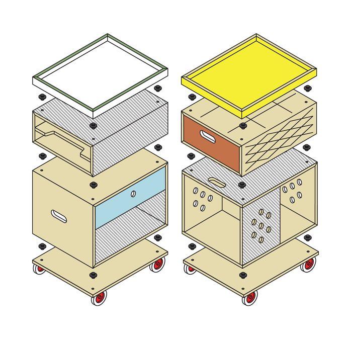 Labt modular storage