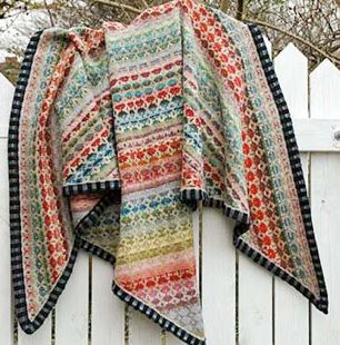 Christel Seyfarth shawl - love the border!