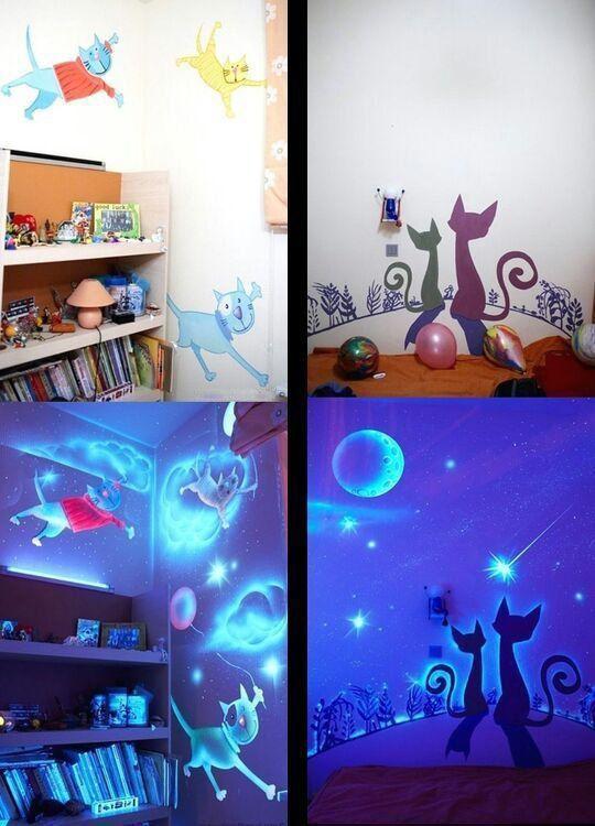 Ein Kinderzimmer erwacht im Dunkeln zum Leben | Webfail - Fail Bilder und Fail Videos