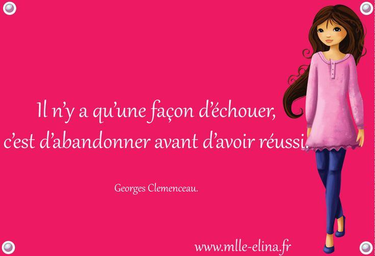 citation Mlle Elina #citation
