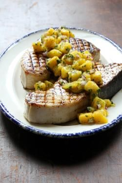 ... swordfish recipes see more grilled swordfish with cucumber melon salsa