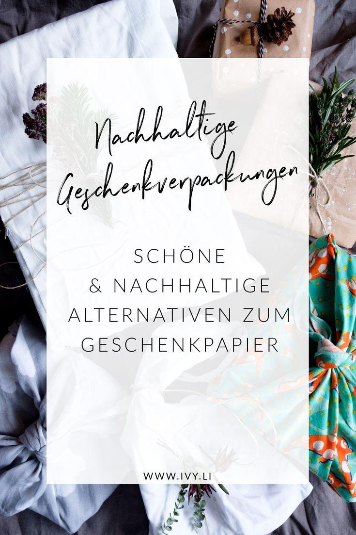 Geschenke nachhaltig verpacken | Winter-DIYs unserer ELTERN-Blogger ...