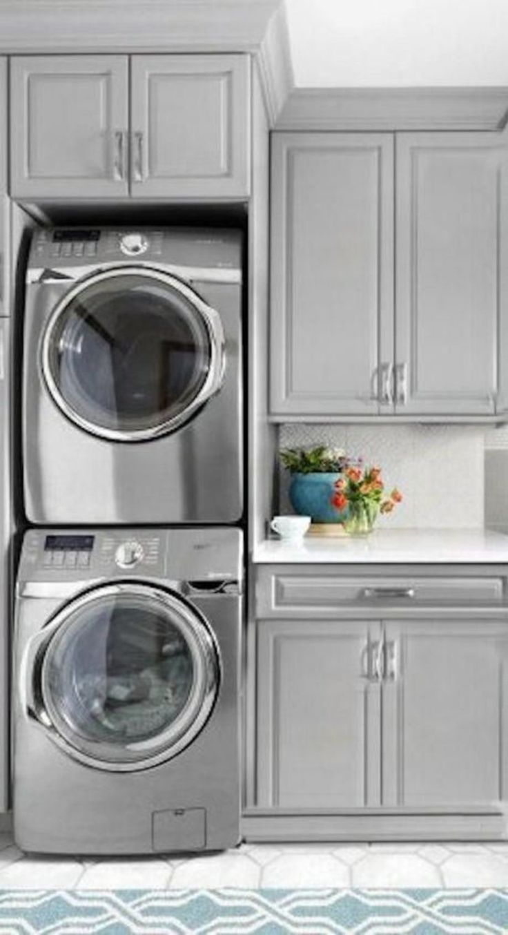 Amazing 40 Best Small Laundry Room Remodeling And Storage Ideas