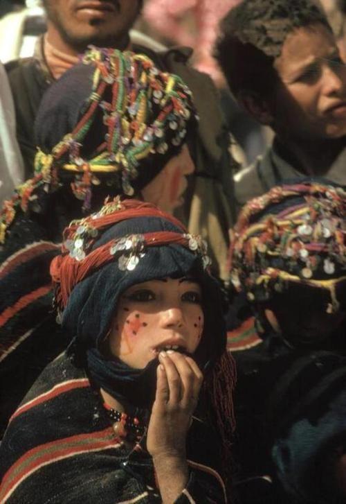 Berber women, Imilchil, Morocco