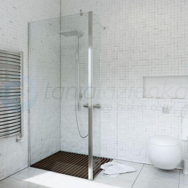 Ścianka prysznicowa narożna WALK  IN FIX 120 cm