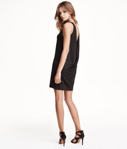 Gedrapeerde jurk | Product Detail | H&M