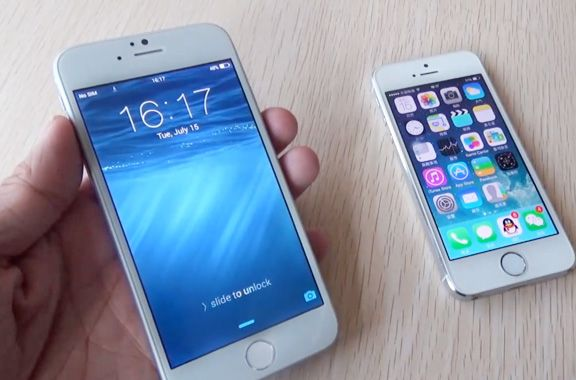 Video review of the first iPhone clone 6 vs. the iPhone 5s