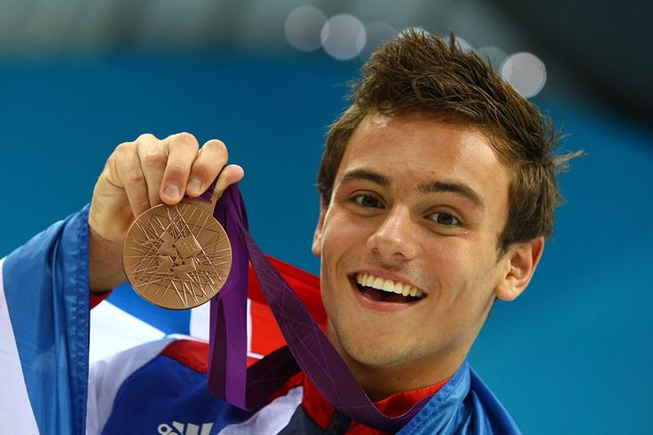 So what if the Olympics are over? Tom Daley is still adorable <3