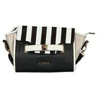 LIPSY-WOMENS FASHION-Bags-Lipsy Stripe Crossbody Bag-£35.00-Stripe Crossbody Bag by Lipsy  > Stylish womens crossbody bag  > Faux leather outer  > Adjustable strap  > Magnetic press stud fastening  > Three inner pockets  > Lipsy branding to the front  > Stripe design to the upper flap  > Zip fastening  > High shine metal hardware  > W: 10.5 inches H: 7 inches D: 4 inches  > Do not wash    Find our latest range of Womens Bags available online at USC.co.uk. Black/White One Size