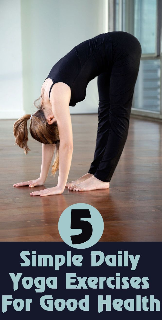 Yoga For Health: These exercises are very simple and each asanas requires 4-5 minutes.