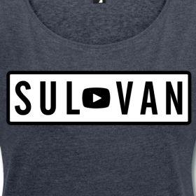 T-shirt femme manches roulées Sulivan | Un Panda Moqueur