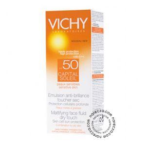 Vichy Capital Soleil Cr Visage Çok Yüksek Korumalaı Yüz ve Dekolte İçin Güneş Kremi Spf 50