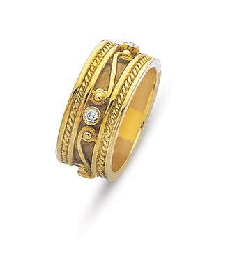 18kt REGAL BYZANTINE BAND84 best Weddings  Orthodox   Byzantine   Medieval Wedding Bands  . Orthodox Wedding Rings. Home Design Ideas