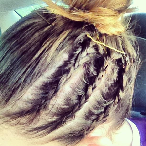 Kim Ravaillions Game Day Hair Fierce