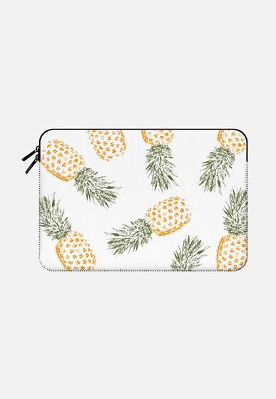 Pineapple Macbook Pro 13 Sleeve by Rui Faria | Casetify