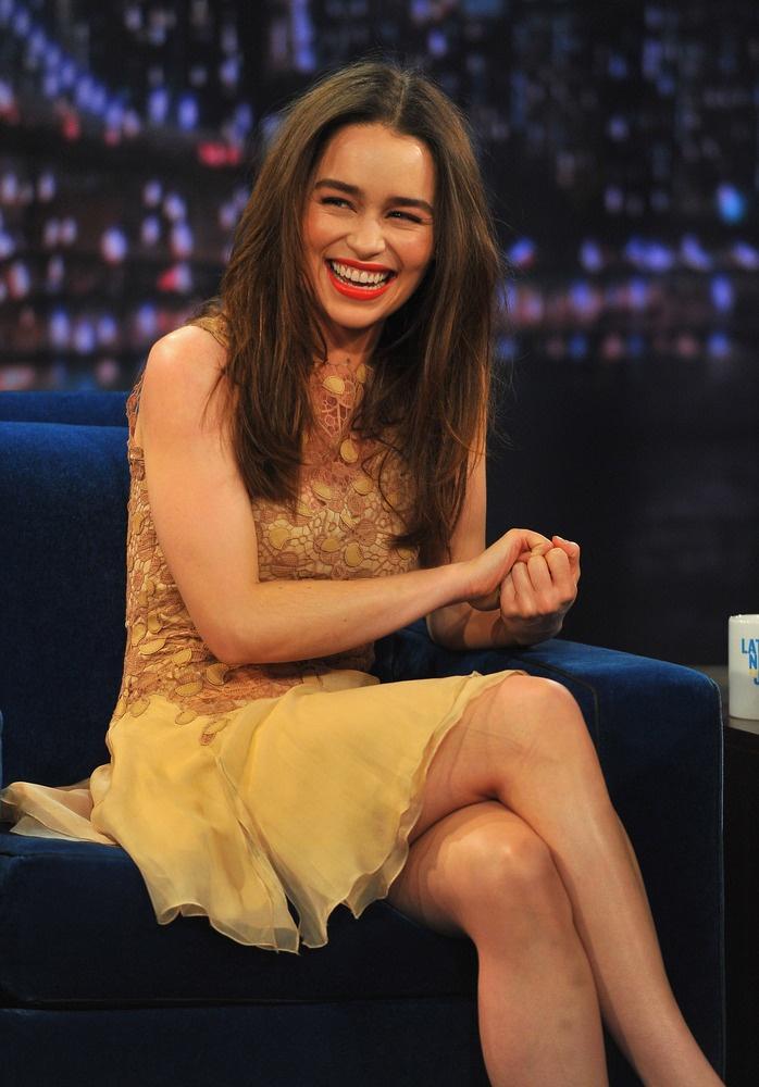 The beautiful Emilia Clarke