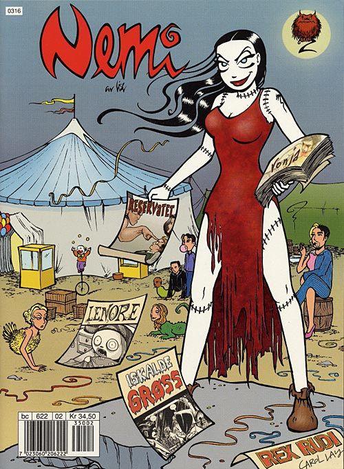 Nemi comic book nr 2