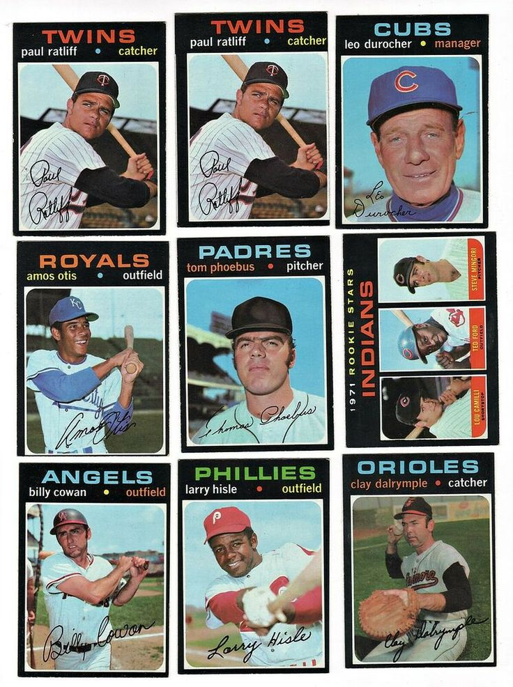 1971 Topps Baseball Card Lot of 31 6th Series High Numbers
