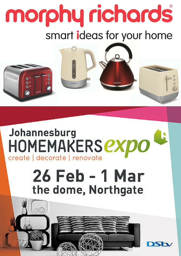Morphy Richards at the Johannesburg Homemakers Expo