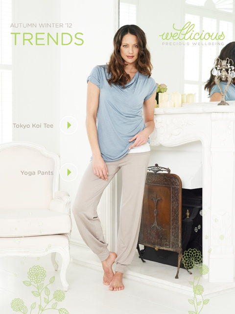 Enjoy the New Season, check out our Weekly Trend!     Tokyo Koi Tee > http://www.wellicious.com/gbren/wellicious-tokyo-koi-tee.html  Yoga Pants > http://www.wellicious.com/gbren/wellicious-yoga-pants.html
