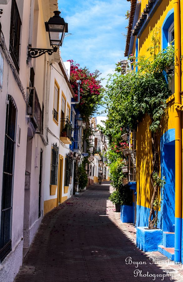 2014 summer jaunt. Old Town of Marbella, Spain To book go to www.notjusttravel.com/anglia