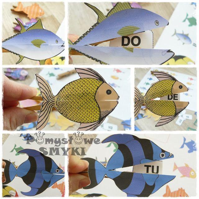 Sylabowe rybki - czytamy przez zabawę