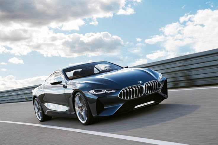 BMW 8 Series Concept breaks cover ahead of 2018 arrival - ForceGT.com