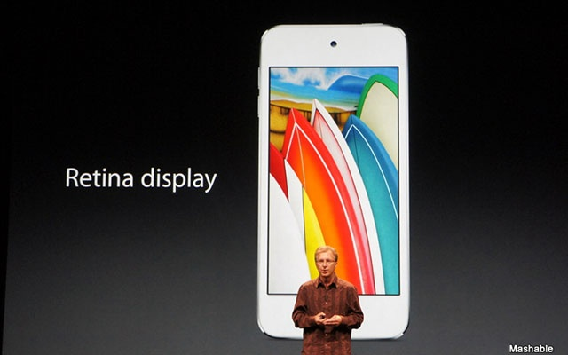 New iPod touch with Siri announced