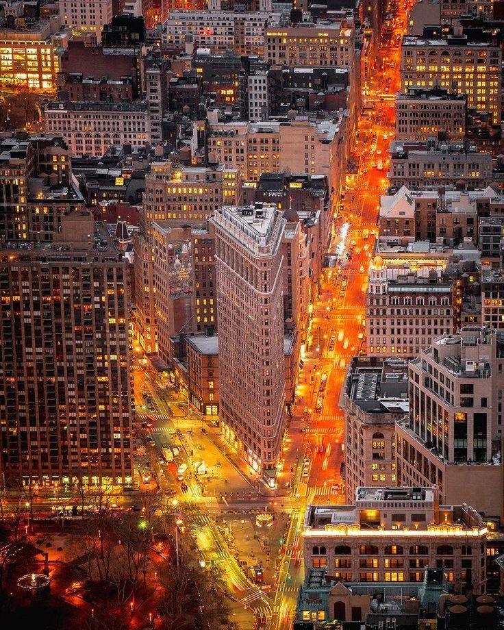 Nyc At Night New York City Urban Landscape Landscape