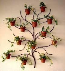 Resultado de imagem para suporte em madeira para identificação de plantas